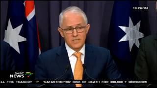 Australia's Malcolm Turnbull endorses Trump's efforts in Korea