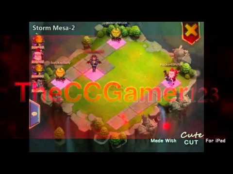 Castle Clash: Storm Mesa 2 &25 Hf4hs