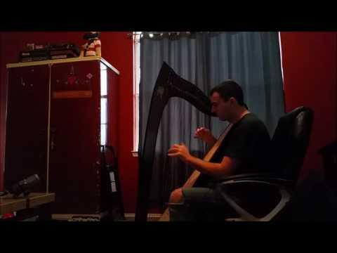 Love At Heart - Blackmill (Harp Cover)