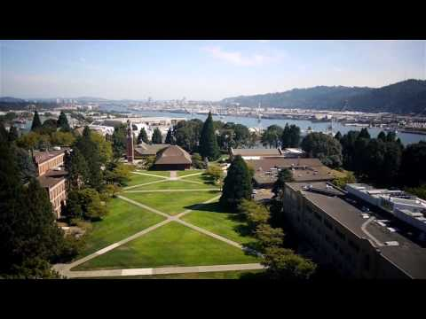 University of Portland Aerial Montage