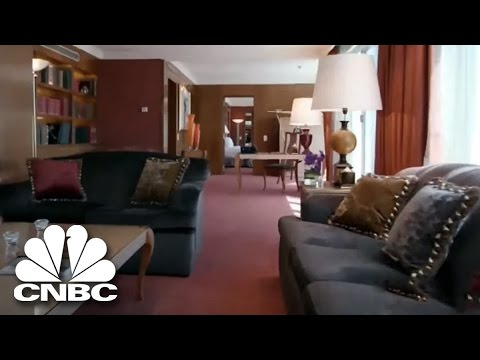 The Most Expensive Hotel Suite In The World | Secret Lives Super Rich | CNBC Prime
