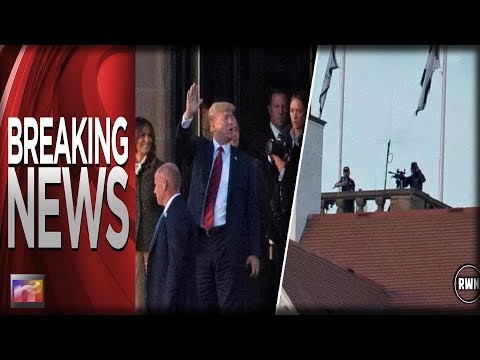 BREAKING: Attack On Trump Dropped In From Sky In Scotland, Stopped By Snipers Feet From His Head