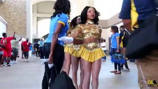 Southern University Fabulous Dancing Dolls Highlights vs TCU (2018)