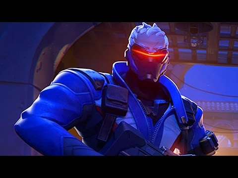 ULTIMATE SOLDIER 76!  | Overwatch - Online Multiplayer, Gameplay Part 3 PS4