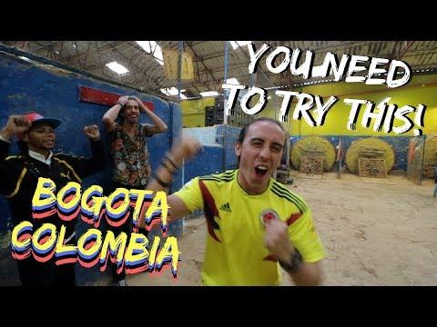 My NEW Favorite Game! TEJO in Bogota, Colombia Travel Vlog Ep 11