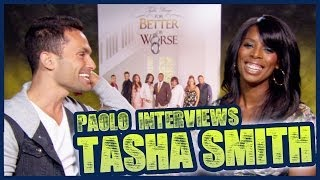 """For Better or Worse"" star Tasha Smith on moving to OWN!"