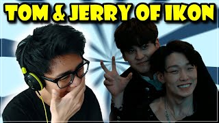 Download lagu The tom and jerry of IKON Reaction