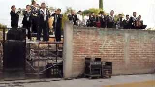 La banda en la Fiesta de la muralla