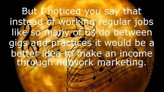How Network Marketing Is A Musicians Friend