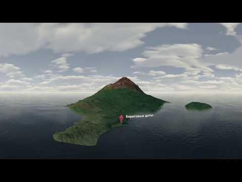 Экскурсия по загадочному острову Матуа: эксклюзивная съемка 360° - Видео онлайн