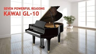 Seven Powerful Reasons to Choose the Kawai GL-10 Grand Piano