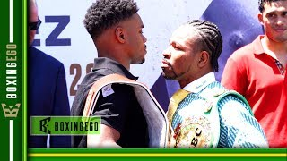 THE FACE OFF YOU WANT! IT'S HERE!! ERROL SPENCE VS SHAWN PORTER - SIZED UP!