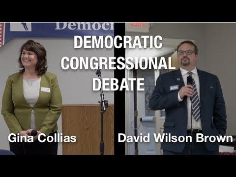 Congressional Debate: Gina Collias And David Wilson Brown