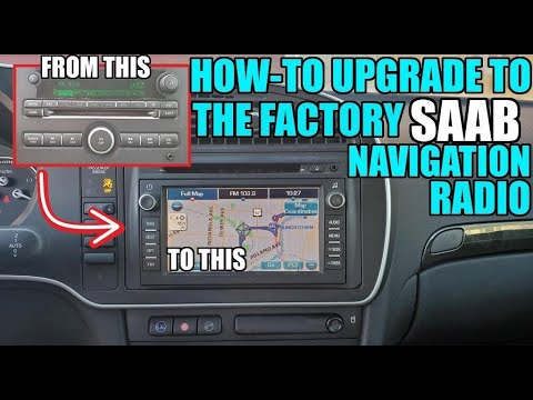 Installing Factory Navigation in Your Saab! (Part 1)