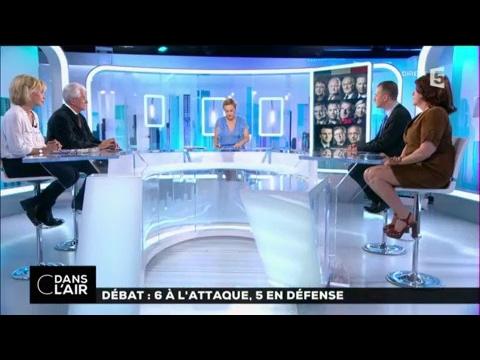 Débat : 6 à l'attaque, 5 en défense #cdanslair 05-04-2017