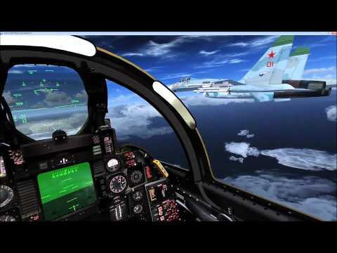 P3D / FSX Review - MilViz F-4E Phantom II by Novawing24