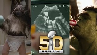 Best Super Bowl 50 Commercials - PuppyMonkeyBaby, Doritos & More