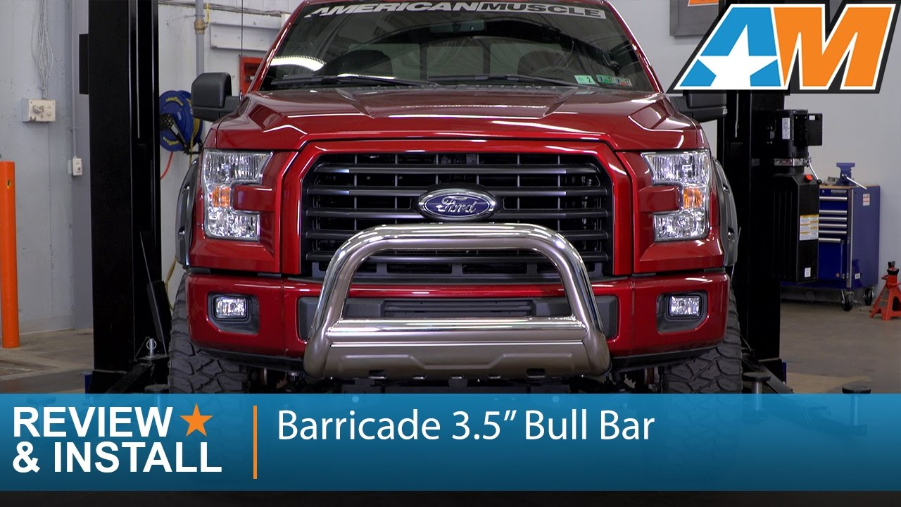 2004 2017 F 150 Barricade 3 5 Bull Bar Excluding Raptor Review Install You