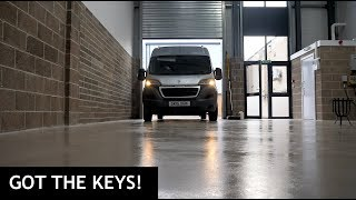 Got The Keys To The New Workshop!