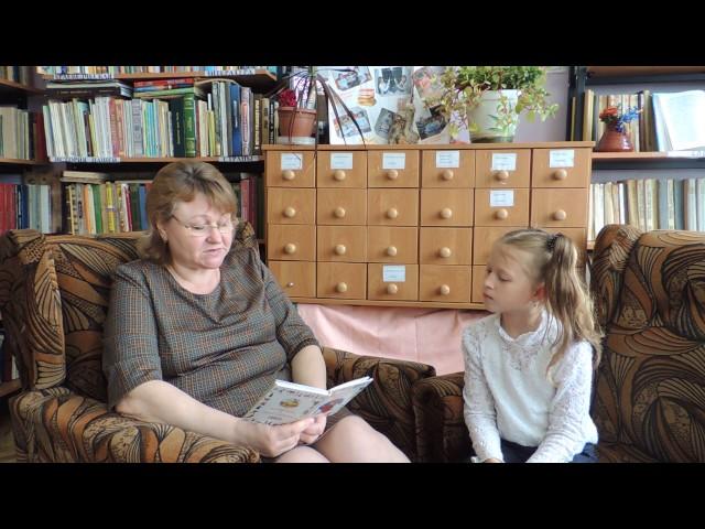 Изображение предпросмотра прочтения – ВарвараКураксина читает произведение «Посидим в тишине» Е.А.Благининой