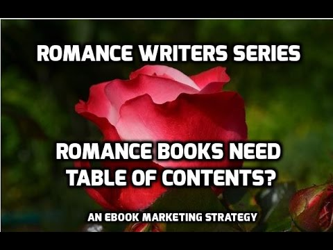romance-writing-#2:-romance-books-need-a-table-of-contents