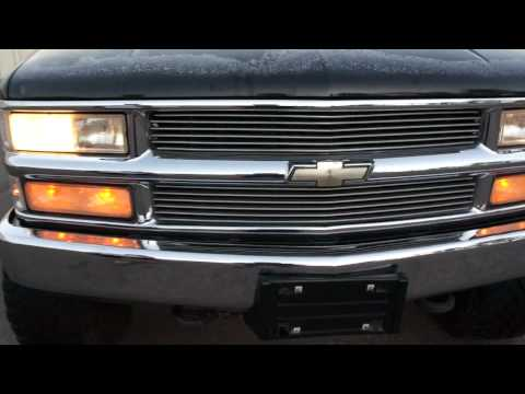 1996 Chevy 1500 x cab 4x4 stepside For Sale $5999 Lifted Toyo