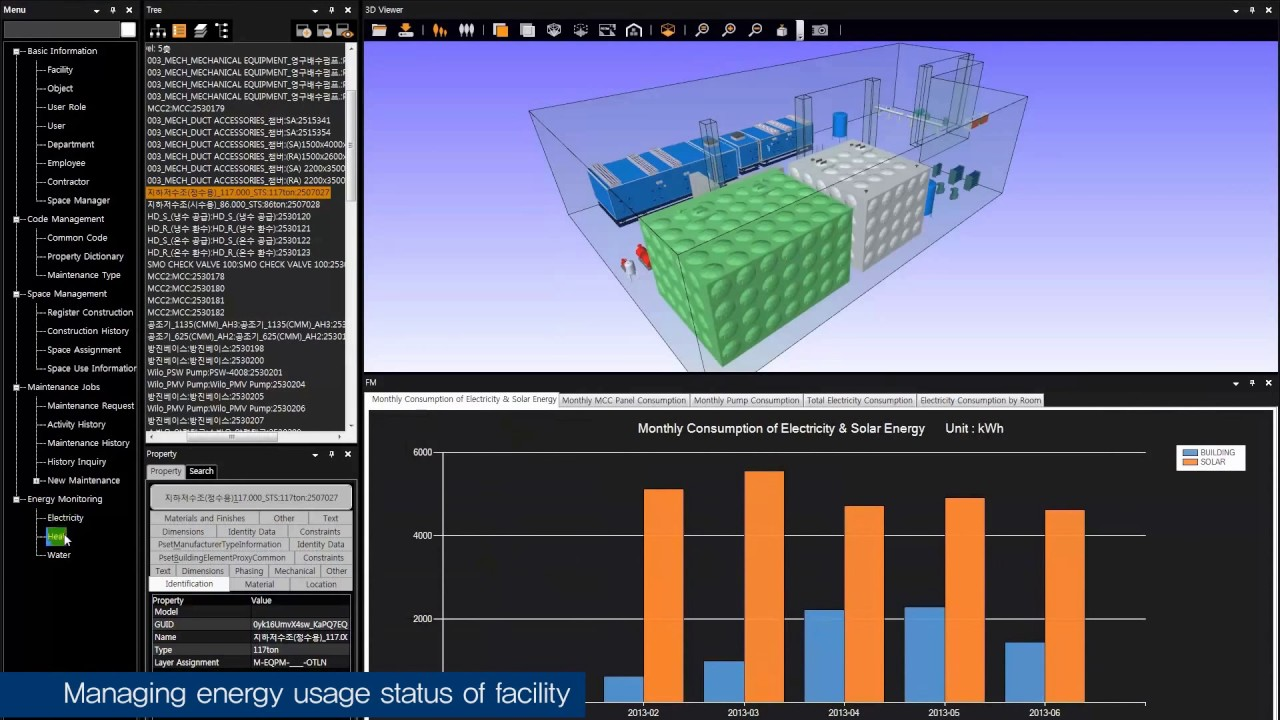 BIM based Asset Management System : performa AMS - YouTube