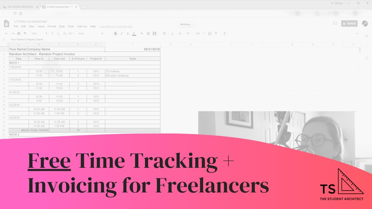 Free Time Tracking and Invoicing for Freelancers