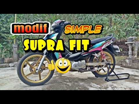 Modifikasi Supra Fit New Simple And Interesting