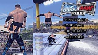 WWE SmackDown! vs. RAW 2006 - PS2 Mods Showcase : Finn Balor 2K18