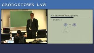 Georgetown University Law Center - Corporate Income Taxation I - Video Clip(, 2015-02-18T19:45:45.000Z)