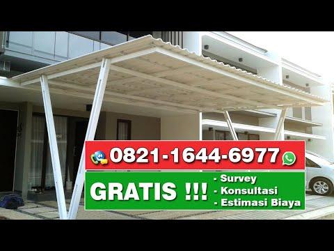 Jasa Tukang Kanopi Minimalis Atap Alderon | Gading Serpong | BSD | Alam Sutera | Tangerang