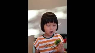 브로콜리 먹기