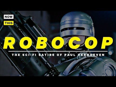 RoboCop  The SciFi Satire of Paul Verhoeven  RoboCop 30th Anniversary  NowThis Nerd