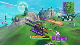 Fortnite battle royale plane clip
