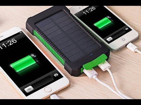Solar Power Bank - Outdoor power bank