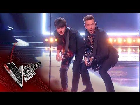 Danny Jones & Sam perform 'Hey Jude'   The Final   The Voice Kids UK 2019