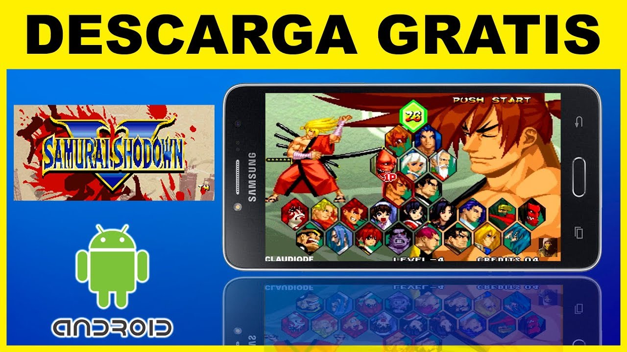 descargar samurai shodown 5 para android gratis