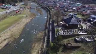 鳥取県日野町 黒坂カワコふれあい公園 ドローン空撮