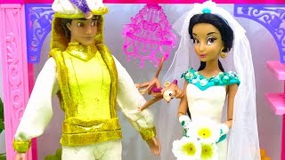 Play Doh Aladdin Wedding Dress Up Disney Princess Jasmine Makeup Costumes Best Learn DIY