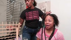 ARE ME & DALANE'S MOM BEEFING? *SHE DID MY HAIR*