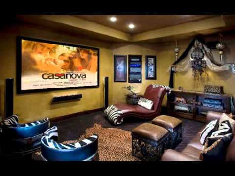 home theater ideas on a budget  YouTube