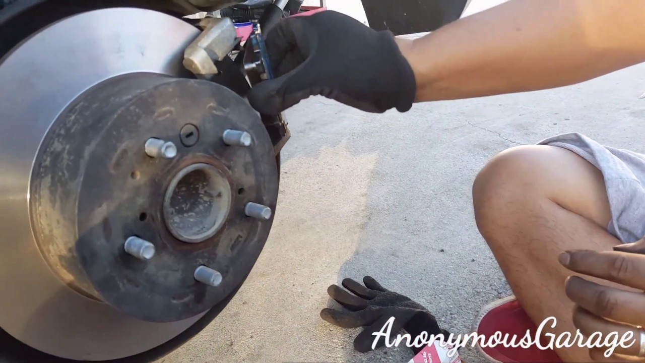 How To Change Rear Brakes On A 2009 Toyota Camry
