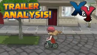Pokémon X and Y - New Pokémon Orotto and Bicycle Returns | eShop Trailer Analysis