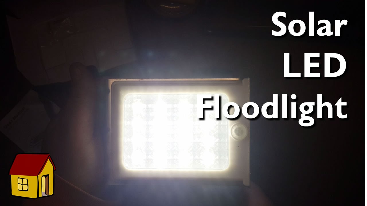 A Solar Powered Led Floodlight Youtube Build Outdoor Dti