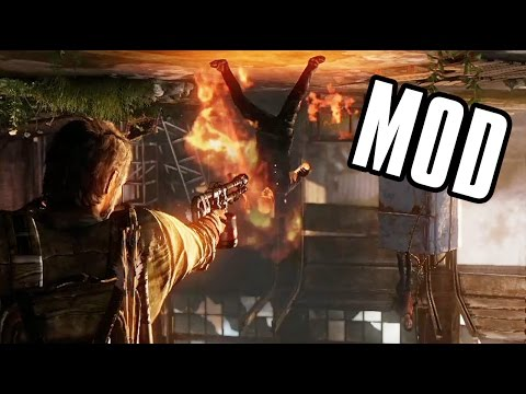 Firing Long Guns During Bill's Trap Mod (The Last Of Us)
