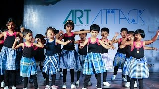 Kids dance for Dhanush