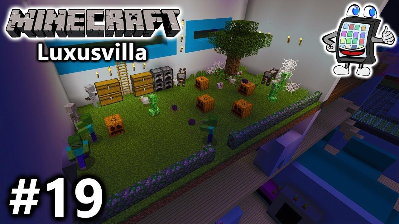Minecraft playmobil luxusvilla bauen 19 naturzimmer f r for Luxusvilla bauen