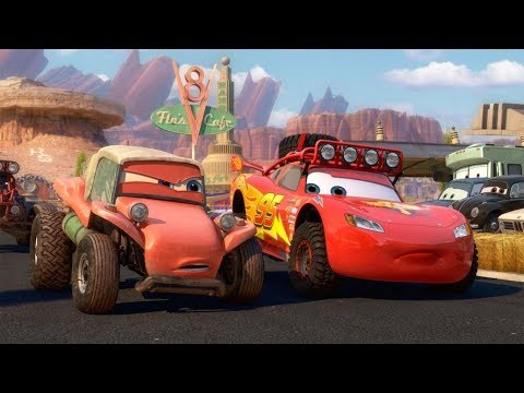 Cars Movie 2006 - Owen Wilson, Bonnie Hunt, Paul Newman