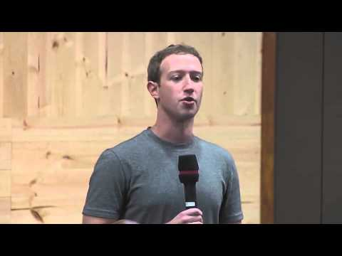 Facebook Founder Mark Zuckerberg First Public Q&A !